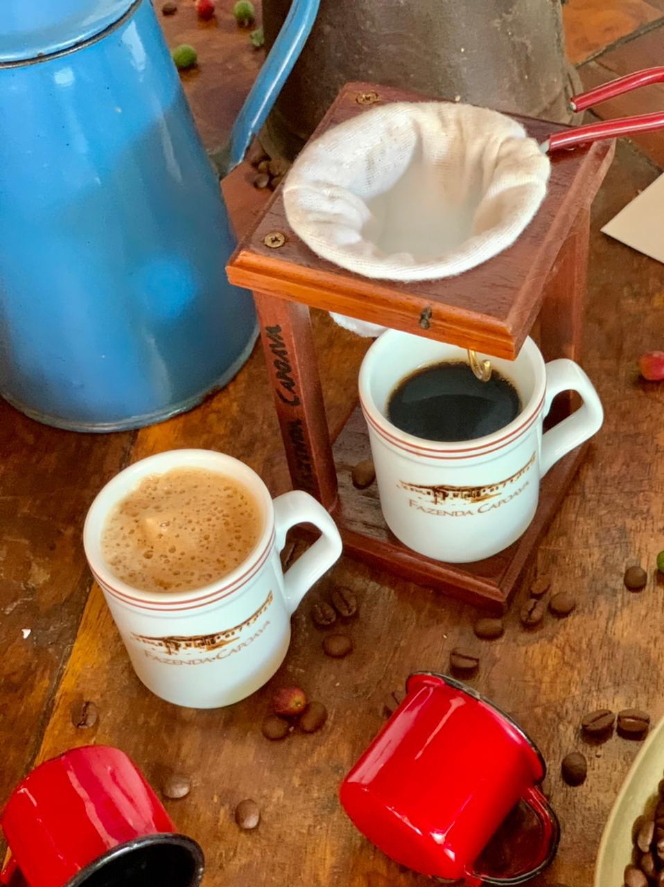 para que serve o café